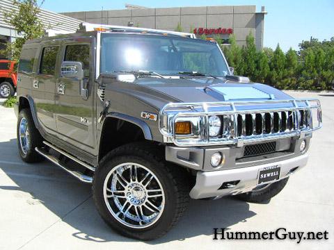 2008 Hummer H2 Graystone Custom
