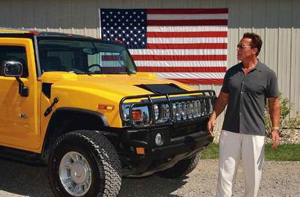 Arnold Schwarzenegger Hummer H2
