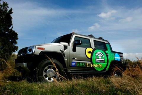 2009 Hummer H2 flex fuel E85